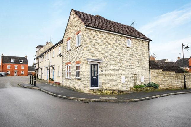 Thumbnail End terrace house for sale in Poppy Close, Calne