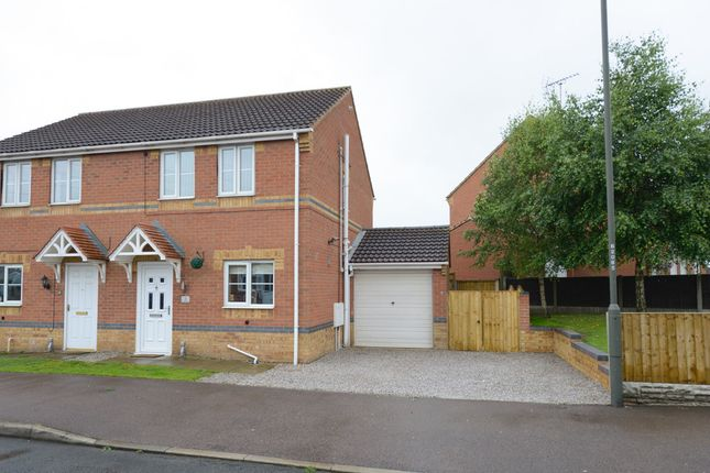 3 bed semi-detached house for sale in Haddon Road, North Wingfield, Chesterfield