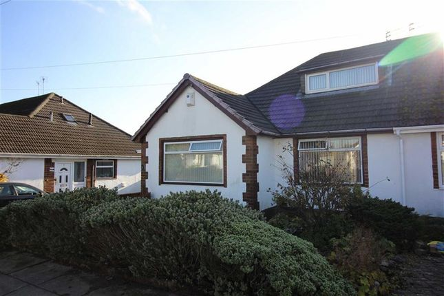 Thumbnail Semi-detached bungalow to rent in Bamford Close, Bury, Greater Manchester