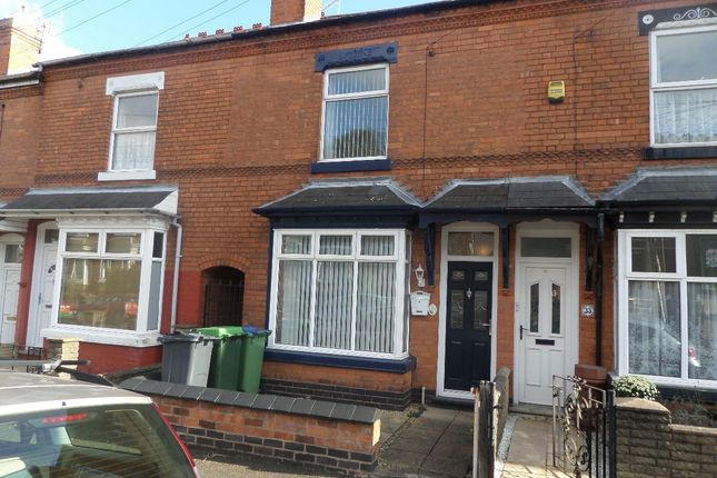 Thumbnail Terraced house to rent in Katherine Road, Bearwood