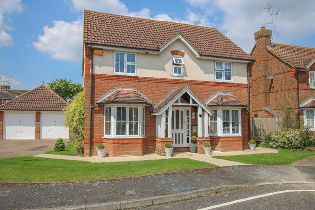 Thumbnail Detached house for sale in Church Farm Close, Bierton, Aylesbury