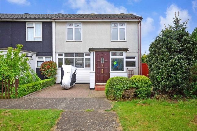 Thumbnail End terrace house for sale in Manor Avenue, Basildon, Essex