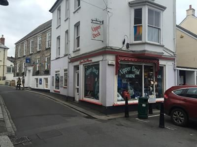 Commercial property for sale in The Upper Deck, Fore Street, Fowey, Cornwall