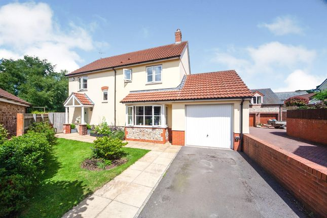 Detached house for sale in Churchills Rise, Hemyock, Cullompton