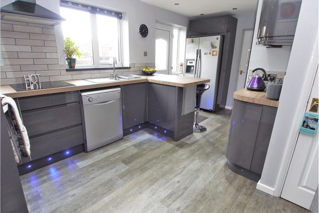 Thumbnail Detached house for sale in Durham Avenue, Grassmoor, Chesterfield