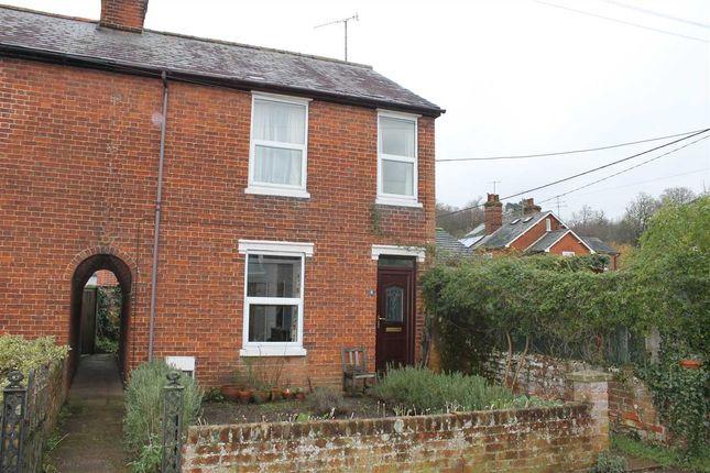 Thumbnail End terrace house to rent in Hackney Terrace, Melton, Woodbridge