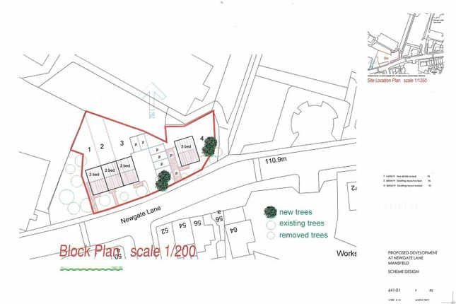Thumbnail Land for sale in Boggs Cottages, Lindhurst Lane, Mansfield