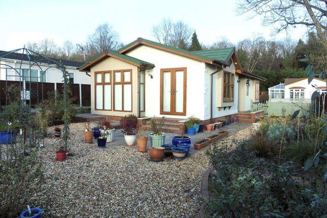 Thumbnail Mobile/park home for sale in Clanna, Alvington, Lydney