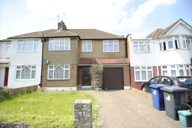 Thumbnail Semi-detached house to rent in Danemead Grove, Northolt