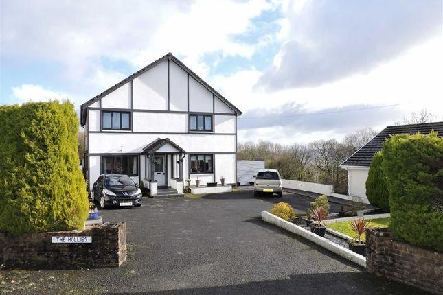Thumbnail Detached house for sale in Maes Y Bont Road, Gorslas, Llanelli