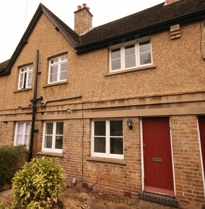 Thumbnail Terraced house to rent in Cobden Hill, Radlett