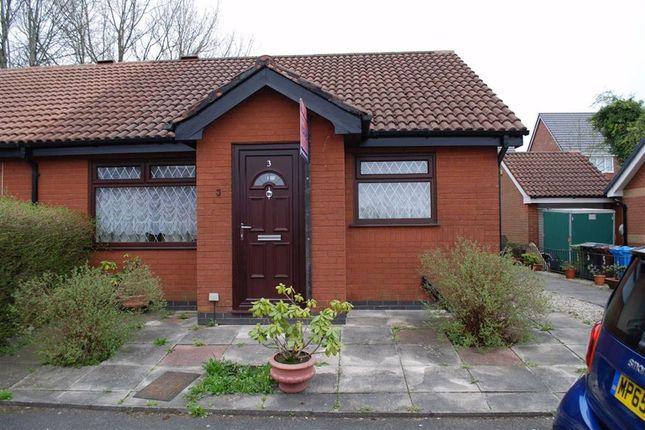 Thumbnail 2 bed semi-detached bungalow to rent in Mills Farm Close, Oldham, Lancashire