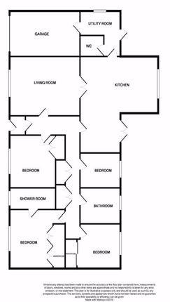 Floorplan of Mansefield Park, Kirkhill, Inverness IV5