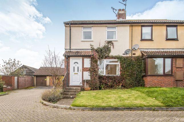 2 bed terraced house for sale in Northwood Close, Norton Fitzwarren, Taunton