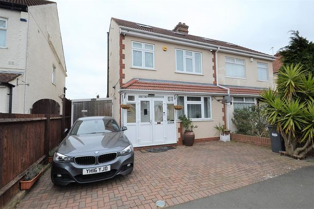 Thumbnail Semi-detached house for sale in Imperial Road, Feltham