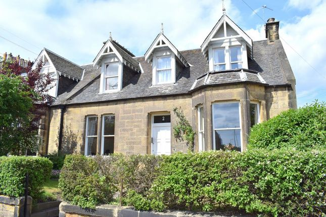 Thumbnail End terrace house for sale in 2 St. Mark's Place, Edinburgh, City Of