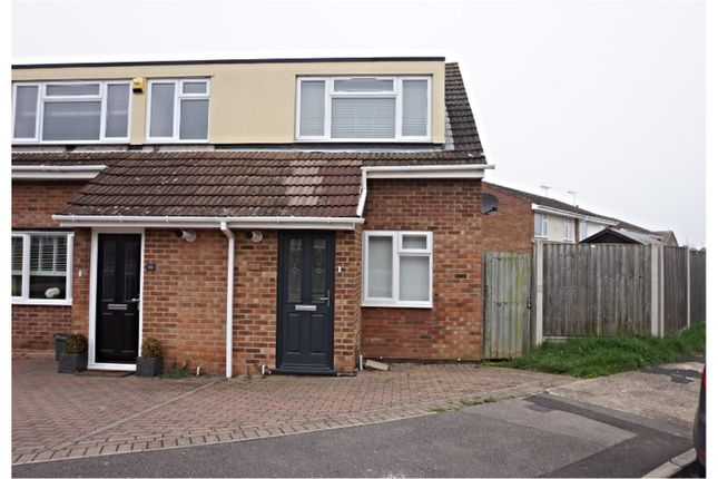 Thumbnail Semi-detached house for sale in Keyes Way, Braintree