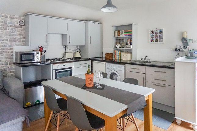 Kitchen Area To Attic Room