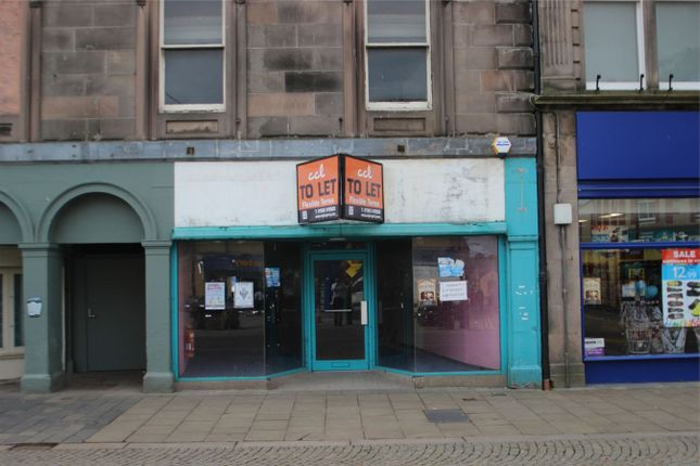 Thumbnail Commercial property to let in 132 High Street, Elgin, Moray