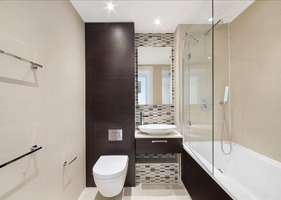 Bathroom of Horizons Tower, Nr Canary Wharf, London E14