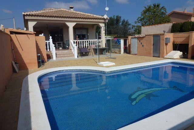 Thumbnail Villa for sale in Hondón De Los Frailes, Hondón De Los Frailes, Alicante, Valencia, Spain