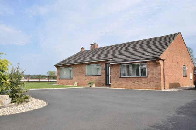 Thumbnail Detached bungalow for sale in Three Cocks Lane, Offenham, Evesham