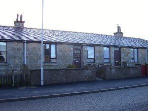 Thumbnail Terraced house to rent in Chanonry Road, Moray, Elgin