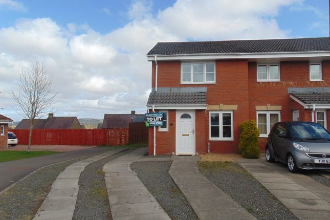 Thumbnail End terrace house to rent in Cricketfield Place, Armadale, West Lothian