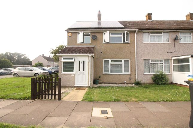 Thumbnail End terrace house for sale in Pear Tree Mead, Harlow
