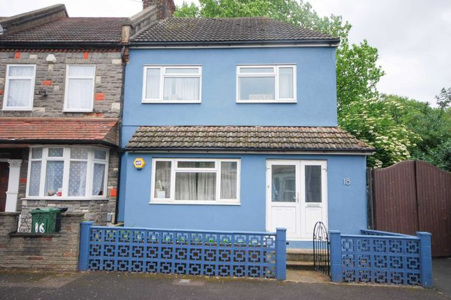 Thumbnail End terrace house for sale in Gordon Road, London