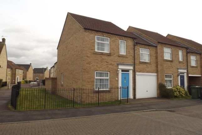 Thumbnail End terrace house for sale in Chapman Way, Eynesbury, St. Neots, Cambridgeshire
