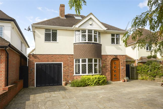 Thumbnail Detached house for sale in Lindsay Drive, Shepperton