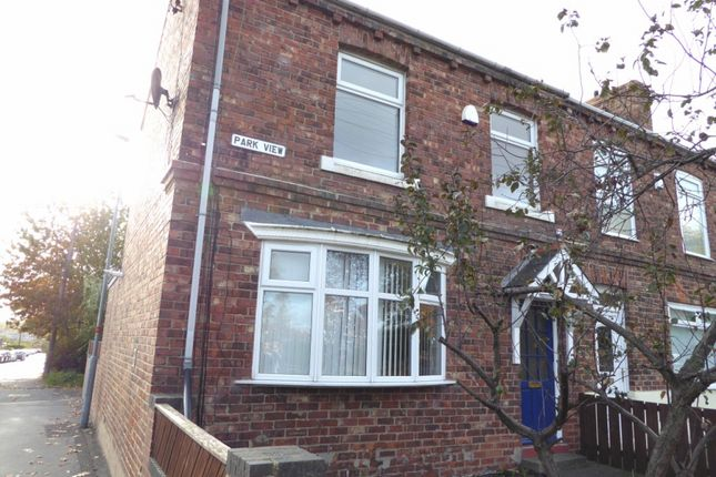 Thumbnail Terraced house to rent in Park View, Chester Le Street