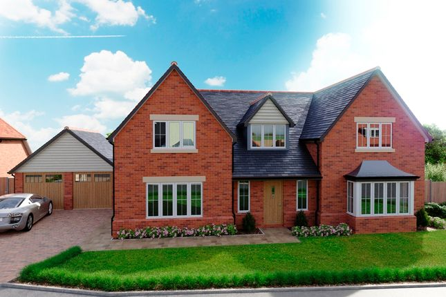 Thumbnail Detached house for sale in Green End, Braughing
