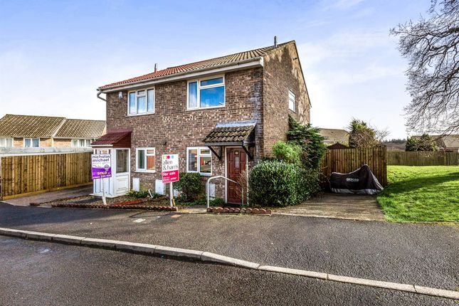 Thumbnail Semi-detached house for sale in Forest View, Talbot Green, Pontyclun