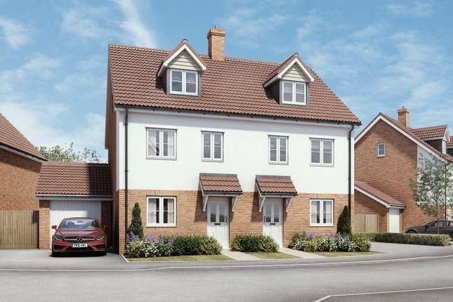 Thumbnail Semi-detached house for sale in Montagu Place, Woodnesborough Road, Sandwich, Kent