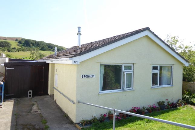 Thumbnail Detached bungalow for sale in 41 Pwllswyddog, Tregaron