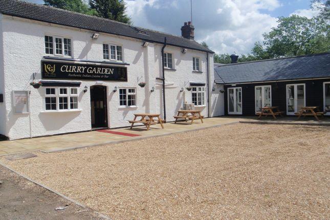 Thumbnail Pub/bar for sale in Curry Garden & Horseshoes, High Street, Leighton Buzzard, Bedfordshire