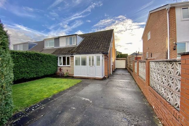 Thumbnail Semi-detached bungalow for sale in Wyndham Drive, Cefn Y Bedd, Wrexham