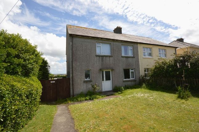 Thumbnail Semi-detached house for sale in Trelawney Road, Newquay