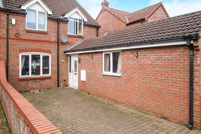 Thumbnail Semi-detached house for sale in Brenda Collison Close, Dersingham, King's Lynn