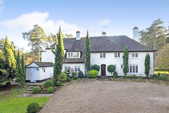 7 bed detached house for sale in Jumps Road, Churt, Farnham, Surrey GU10