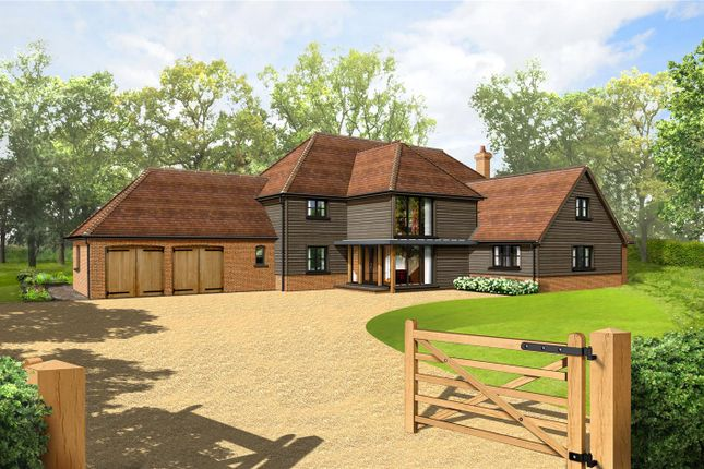 Thumbnail Detached house for sale in Silchester Road, Little London, Tadley, Hampshire