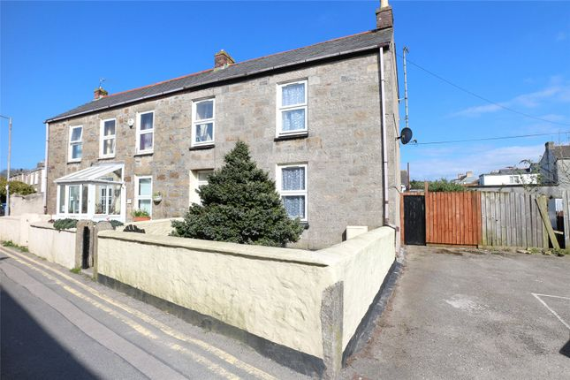 Thumbnail End terrace house for sale in North Road, Camborne