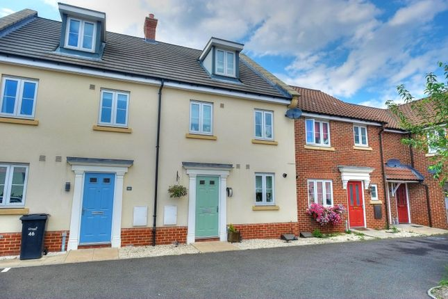 Thumbnail Terraced house for sale in Lord Nelson Drive, Norwich