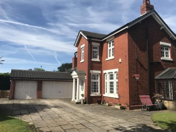 Thumbnail Detached house for sale in Parkfields Lane, Fearnhead, Warrington, Cheshire