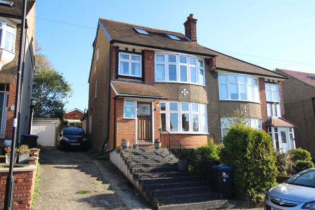 Thumbnail Semi-detached house to rent in Slades Gardens, Enfield