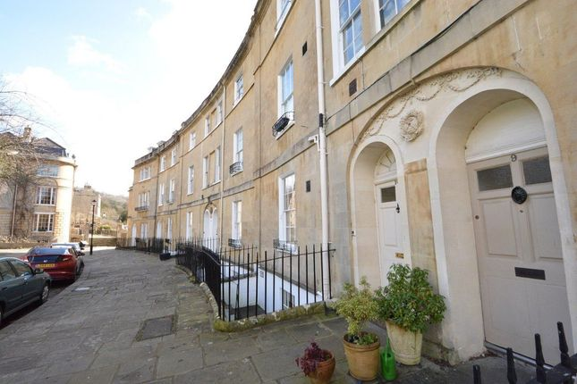 Thumbnail Flat to rent in Widcombe Crescent, Bath