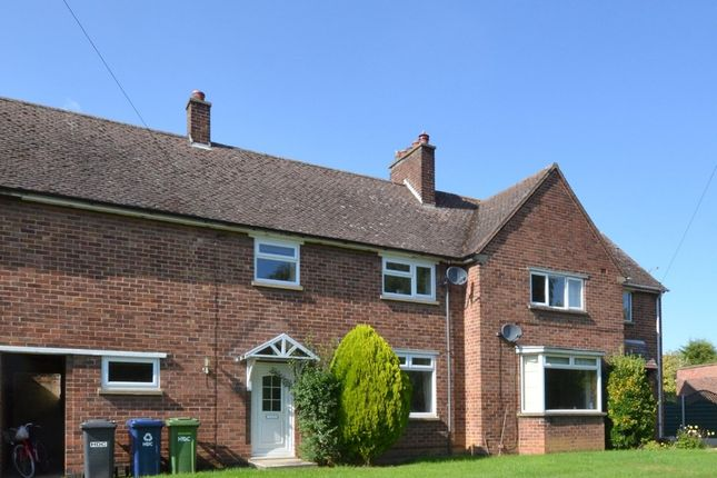 Thumbnail Terraced house to rent in Lincoln Close, Buckden, St. Neots