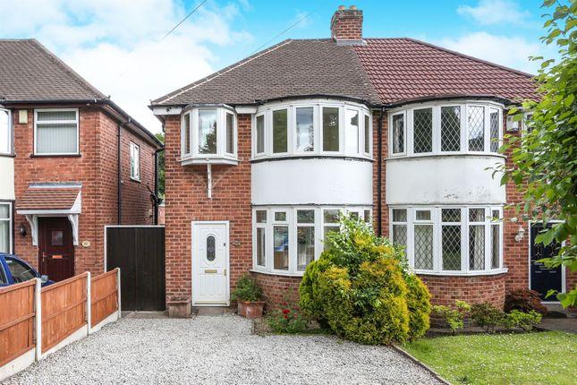 Thumbnail Semi-detached house for sale in Court Lane, Erdington, Birmingham